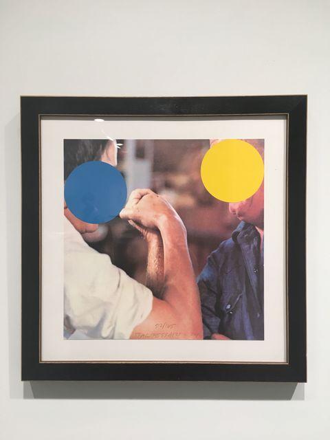 John Baldessari, 'Two Opponents (Blue & Yellow)', 2004, Rhona Hoffman Gallery