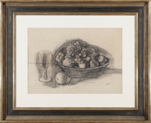, 'Still Life with Fruit and Glass,' , Adolf Loos Apartment and Gallery