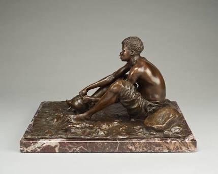 Anton van Wouw, 'Miliepap eter', Dyman Gallery
