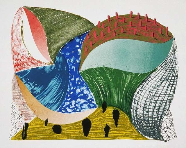 David Hockney, 'Gorge d'Incre', 1993, Kenneth A. Friedman & Co.