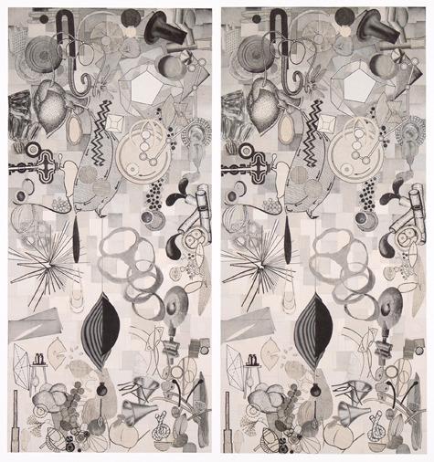 , 'Pendulum L, Pendulum R (diptych),' 2013, Pavel Zoubok Gallery