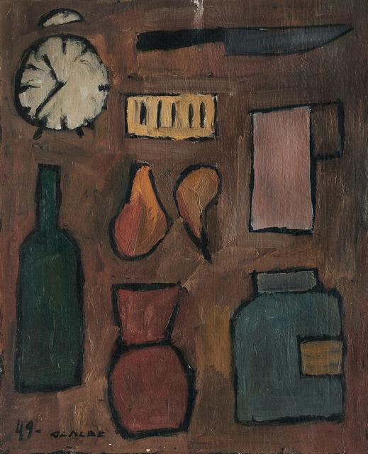 , 'Composición con elementos,' 1949, Galería de las Misiones