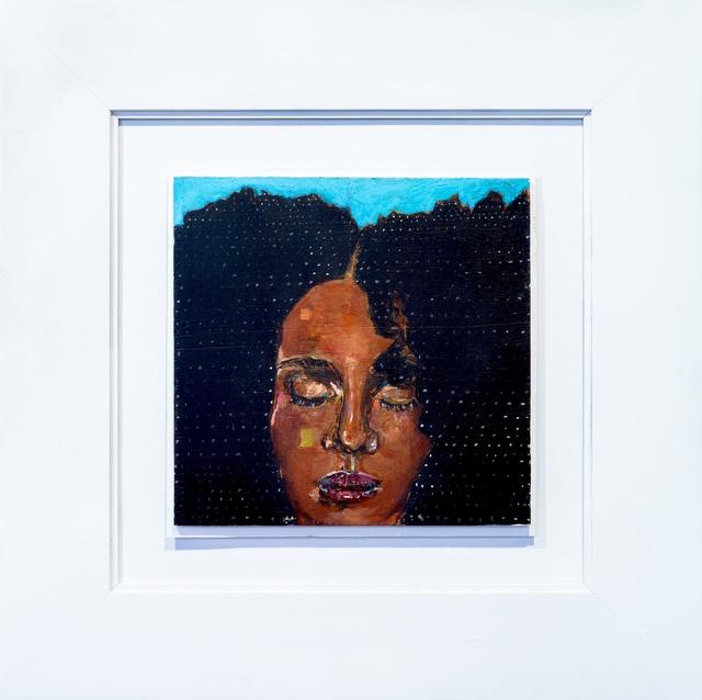 , 'AfroGalactic Girl I,' 2016, Art Village Gallery