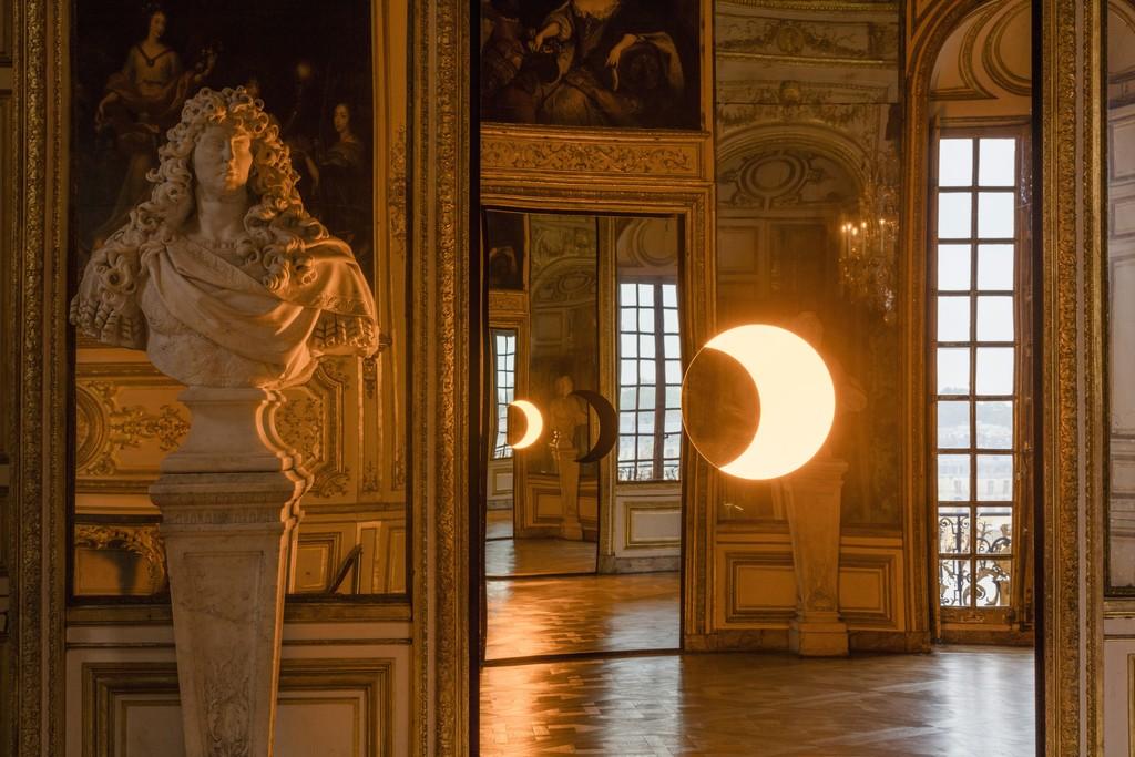 "Installation view of ""Olafur Eliasson"" at Château de Versailles, Versailles (2016) Photo: Anders Sune Berg Courtesy of the artist; neugerriemschneider, Berlin; Tanya Bonakdar Gallery, New York © 2016 Olafur Eliasson"