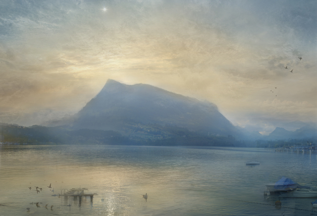 Hiroyuki Masuyama, 'J.M.W. Turner The Blue Rigi, Sunrise', 2015 , Photography, LED Lightbox, GALERIE URS REICHLIN