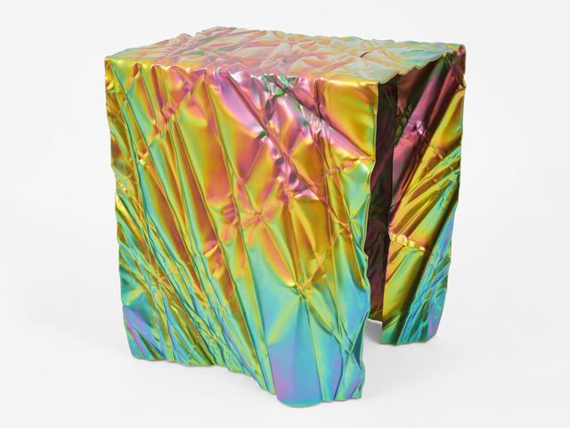 Christopher Prinz, 'Wrinkled Stool', 2018, Patrick Parrish Gallery