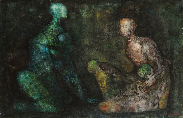 , 'Colloque minerale,' 1938, Weinstein Gallery