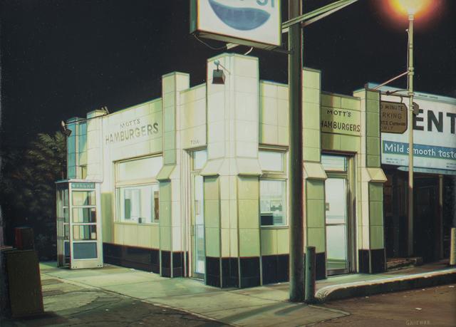 , 'Mott's Hamburgers III,' 2019, Louis K. Meisel Gallery