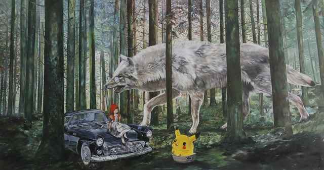 , 'The tale with a painting passing through,' , artSümer