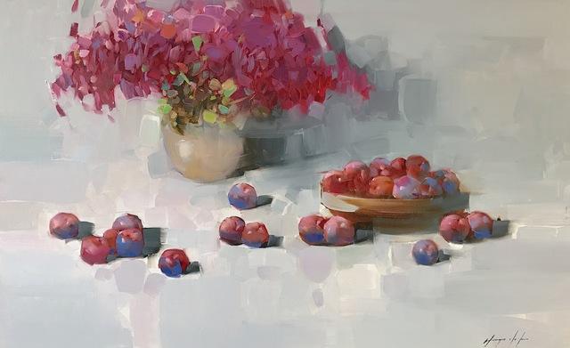 Vahe Yeremyan, 'Still Life with Flowers', 2018, Vayer Art
