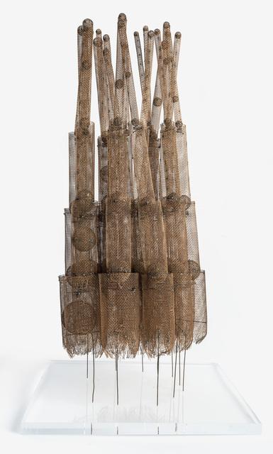 Günter Haese, 'brass and phosphorous bronze, smoked', 1965, Galerie Thomas