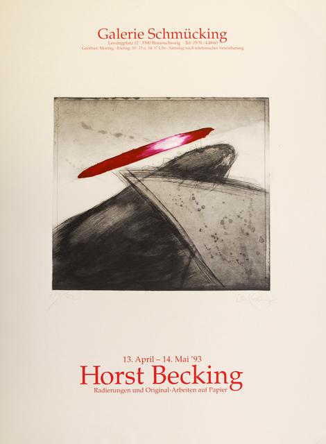 Horst Becking, 'Radierungen und Original-Arbeiten auf Papier', 1993, Sylvan Cole Gallery