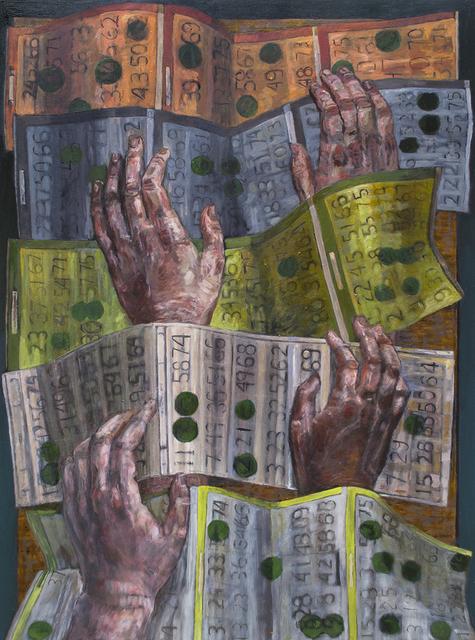 Teddy Johnson, 'Bingo II', 2018, Linda Matney Gallery
