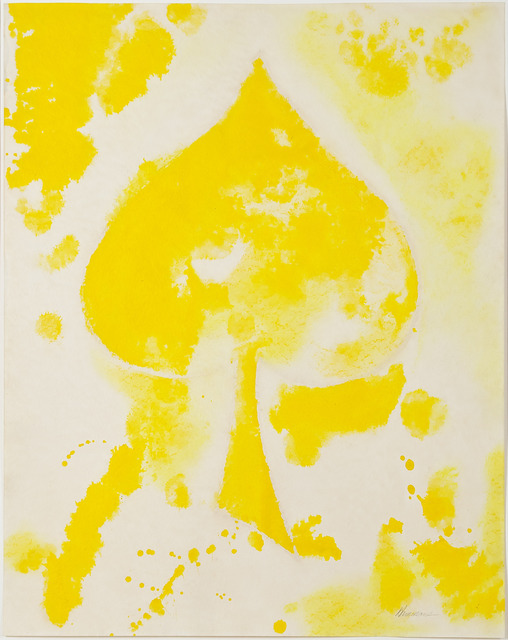 , 'Untitled (yellow spade),' 1975, Thomas Dane Gallery