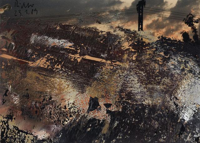 , 'Ohne Titel (23.1.89),' 1989, Ludorff