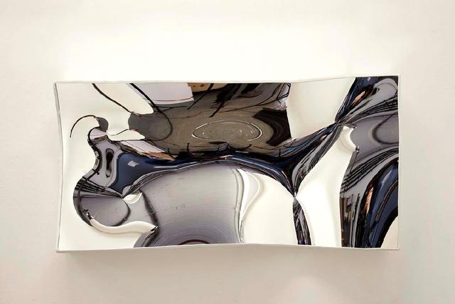 , 'Medium Slumped White Mirror Box,' 2010-2020, Brooklyn Waterfront Artist Coalition