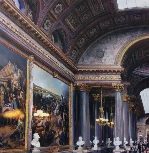 , 'Versailles - the Battles Gallery 1,' 2017, Cynthia Corbett Gallery