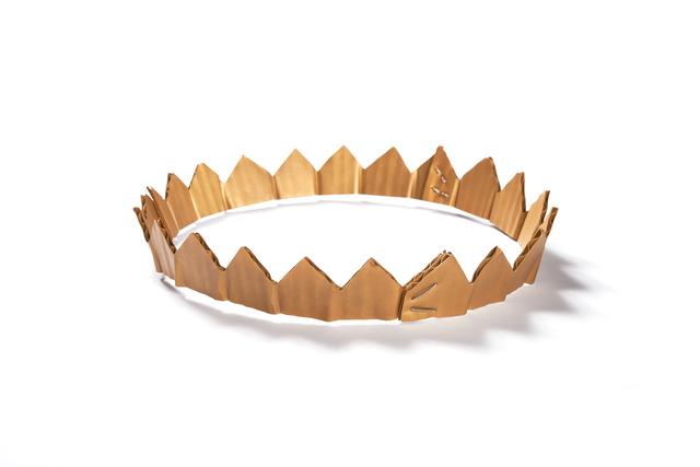 , 'Cardboard Crown necklace,' 2015, Ornamentum