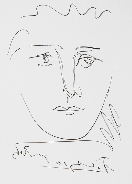 Pablo Picasso, 'Pour Roby from L'Age de Soleil', 1950, Print, Etching, Odon Wagner Gallery