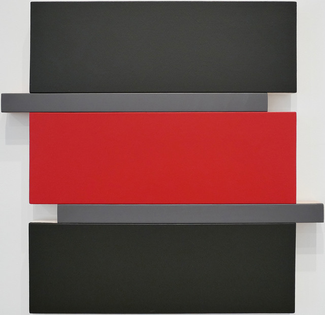 , 'Shift Black/Red/Grey,' , Peter Blake Gallery