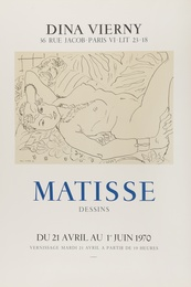 After Henri Matisse, 'Dina Vierny Matisse,' 1970, Forum Auctions: Editions and Works on Paper (March 2017)