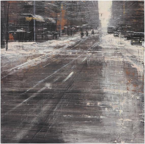 , 'Perspectiva de Nieve,' 2017, Sala Parés