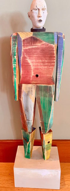 , 'Rainbow Man,' 2019, Seager Gray Gallery