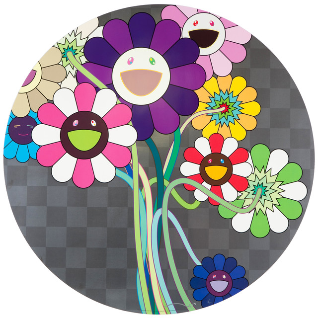 Takashi Murakami, 'Purple Flower in a Bouquet', 2010, Dope! Gallery