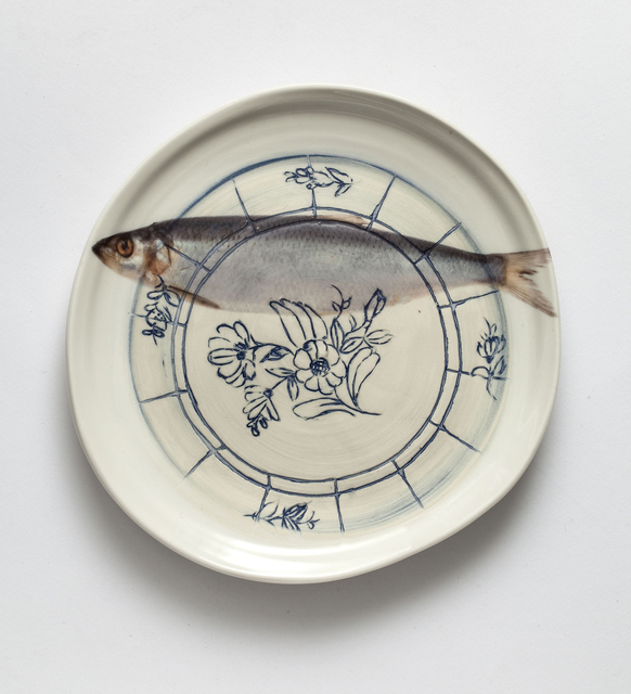 , 'Plate (Fish),' 2016, Lacoste Gallery