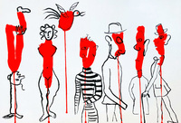 Alexander Calder, Alexander Calder Lithograph, Derrière Le Miroir 1966
