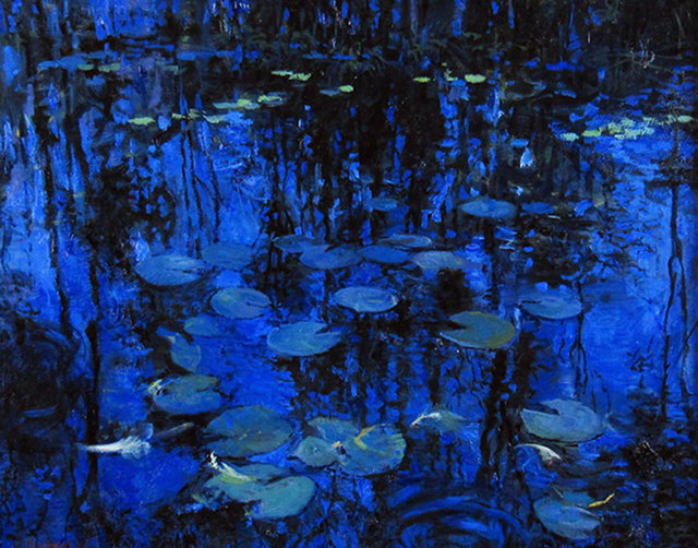 Onelio Marrero, 'Leaves and Lily Pads', ca. 2015, Janus Galleries