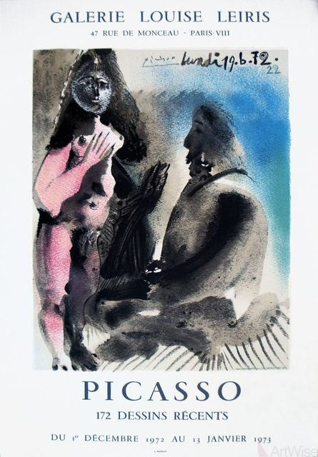 Pablo Picasso, '172 Dessins Recents', 1972, ArtWise