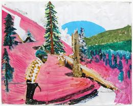 , 'Pink Backside,' 2007-2009, Santa Monica Museum of Art
