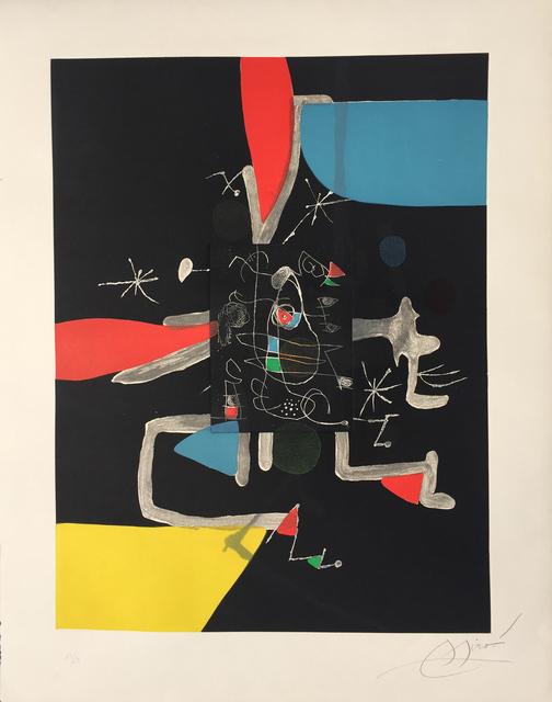Joan Miró, 'I'Libre dels Sis Sentits IV (Book of the Six Senses)', 1981, Denis Bloch Fine Art