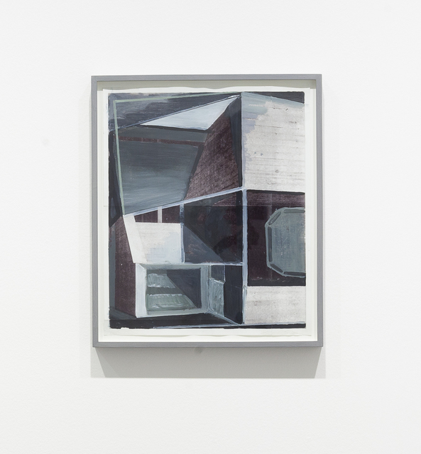 , 'Altneuland III (study),' 2007, Carroll / Fletcher