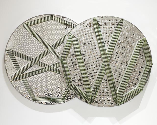 Monir Farmanfarmaian, 'Nonagon and Decagon', 2009, Haines Gallery