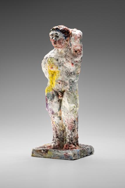 , 'Statue (yellow splash) ,' 2015, Niagara Galleries