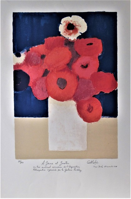 Bernard Cathelin, 'Flowers in a Vase', 1978, Joseph Grossman Fine Art Gallery