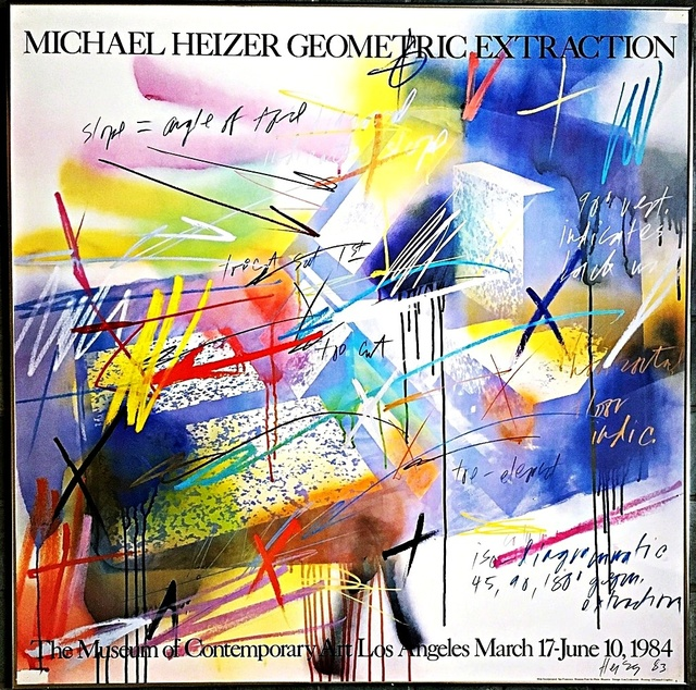 , 'Geometric Extraction (Hand Signed),' 1984, Alpha 137 Gallery