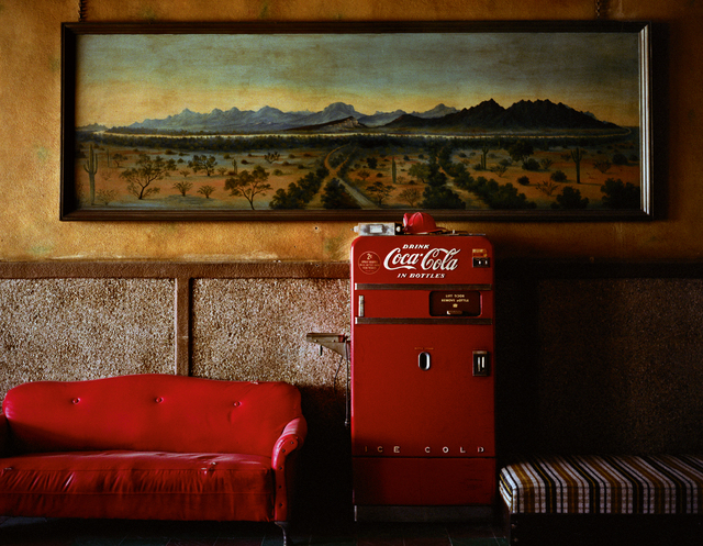 , 'Lounge Painting #1, Gila Bend, Arizona,' 1983, Museum Kunstpalast