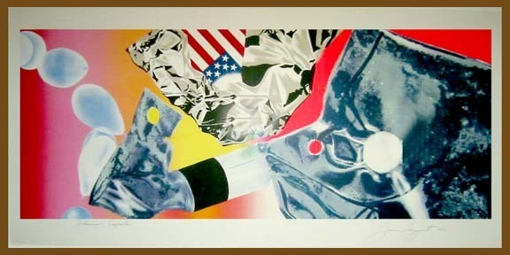James Rosenquist, 'Flamingo Capsule', 1978, David Lawrence Gallery