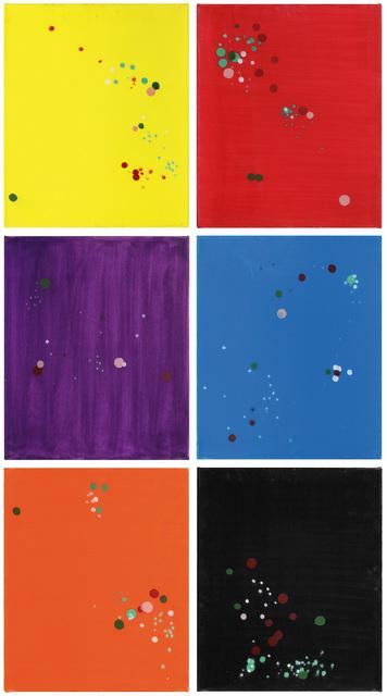 , 'Untitled (sextych),' , Lazinc