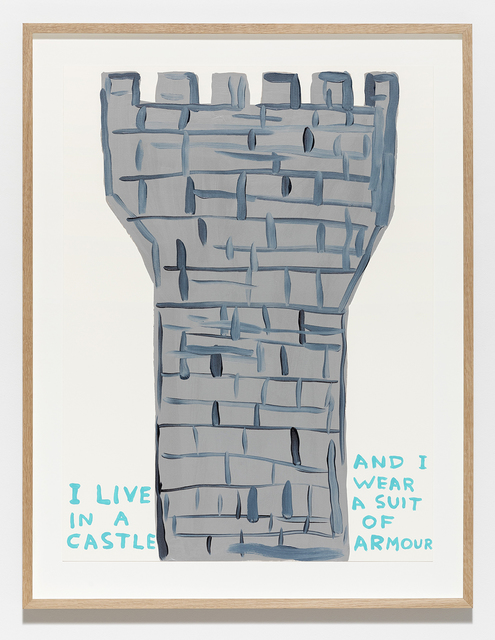 David Shrigley, 'Untitled (I Live in a Castle)', 2019, Galleri Nicolai Wallner