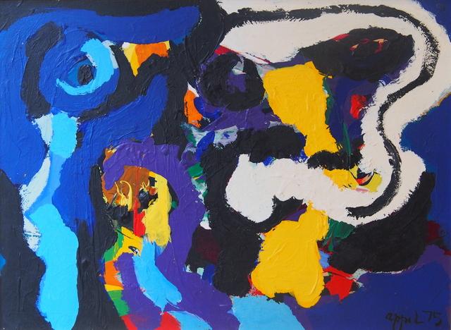 , 'Blue Bird,' 1975, Faessler & Ochsner