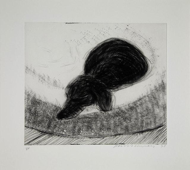 David Hockney, 'Dog Etching  No. 13, form Dog Wall', 1998, Galerie Maximillian