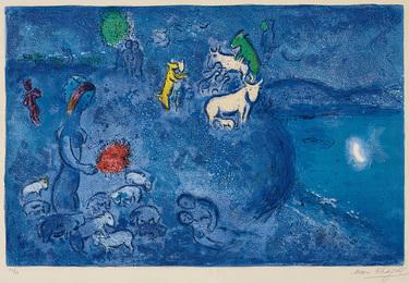 Le Printemps (Spring), plate 28 from Daphnis et Chloé