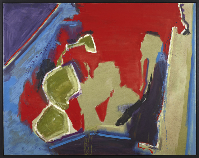 Judith Godwin, 'Green for Danger', 1982, Painting, Oil on canvas, Berry Campbell Gallery