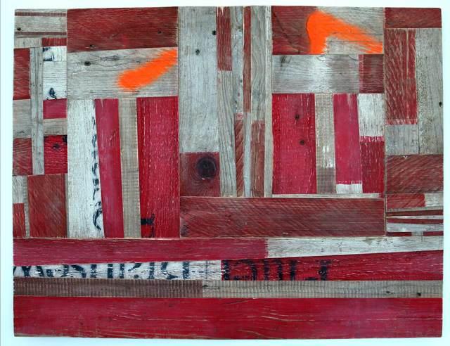 Ovidiu Anton, '57 Streifen', 2015, Christine König Galerie