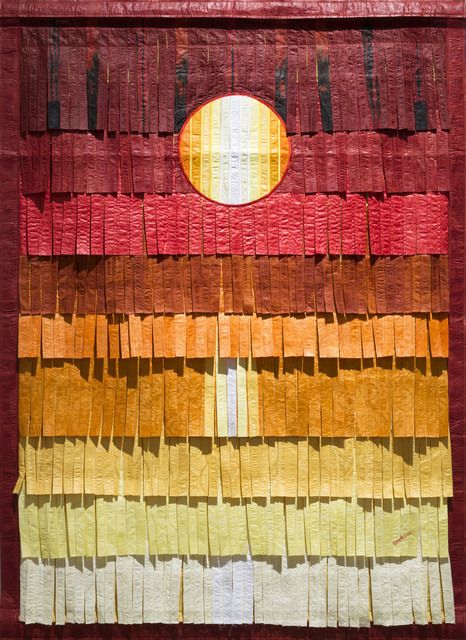 , 'Jaune or soleil,' 2017, Primo Marella Gallery
