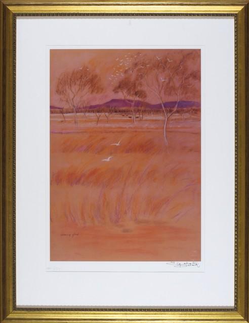 Elizabeth Durack, 'Evening Glow ', 1935-2000, Print, Wentworth Galleries